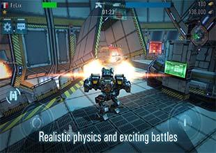 لعبة Tanks vs. Robots اون لاين