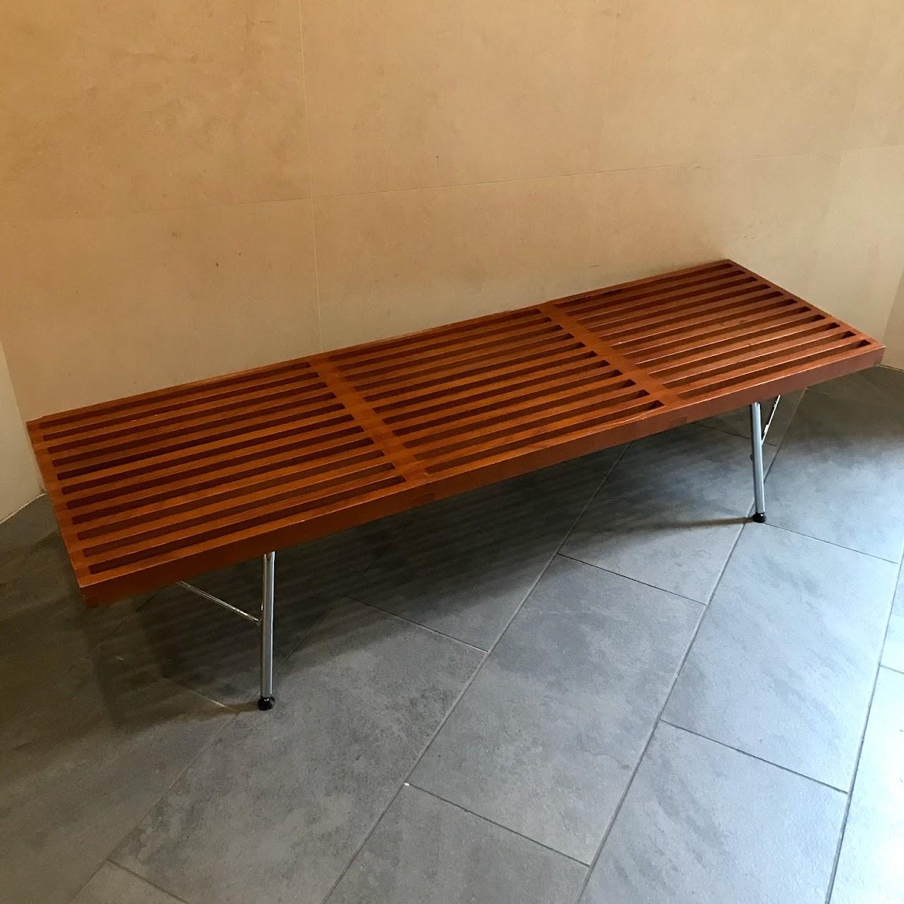 Modern Slat Bench #2