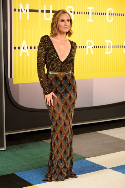 Keltie Knight attends the 2015 MTV Video Music Awards