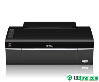 How to reset flashing lights for Epson ME-80W printer