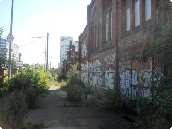 Den gamle kødby i Berlin - juli 2016