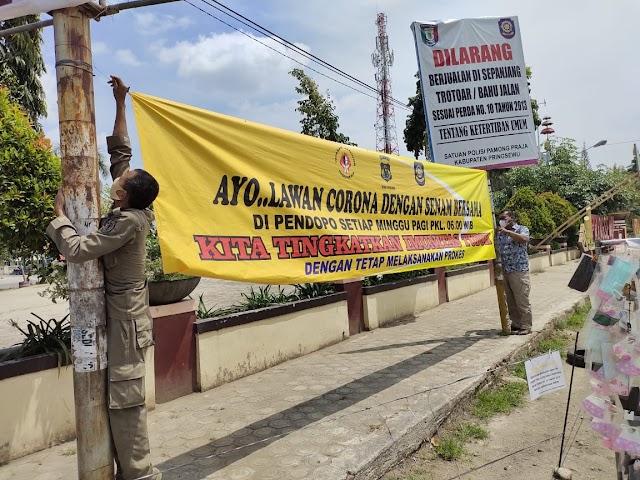 Spanduk Dicabut, Ketua KBPP Polri Pringsewu Berang