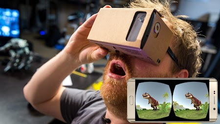 VR Time Machine Dinosaur Park (+ Cardboard) APK screenshot thumbnail 14