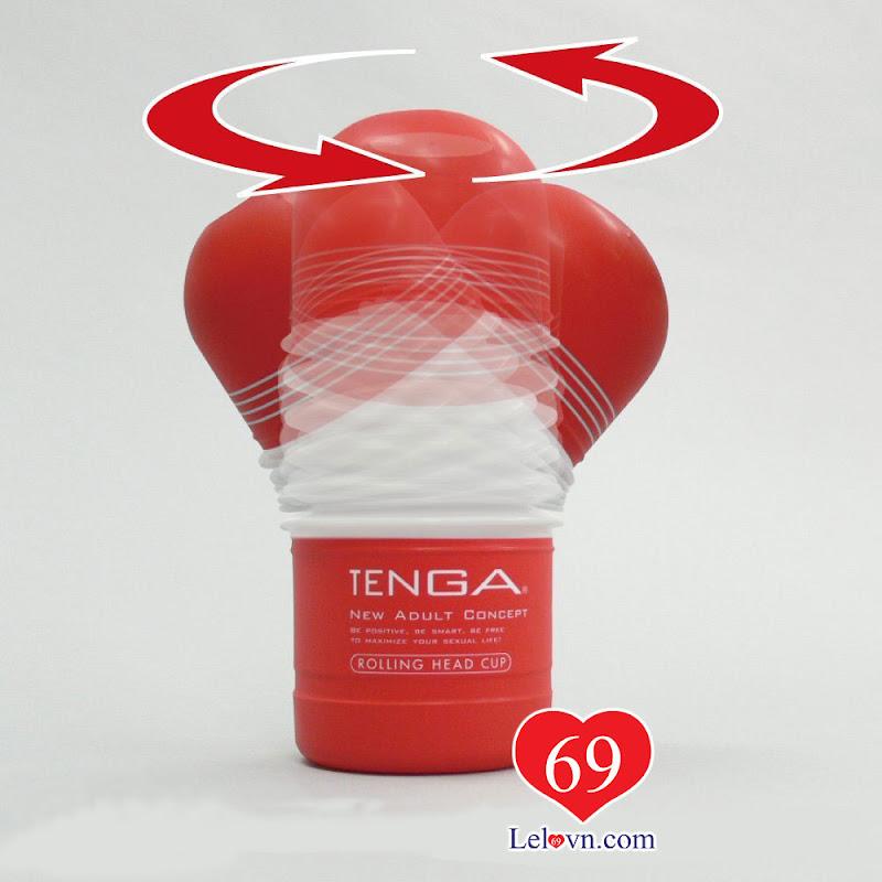 Phần đầu cơ động của Sextoy Tenga Rolling Head Cup