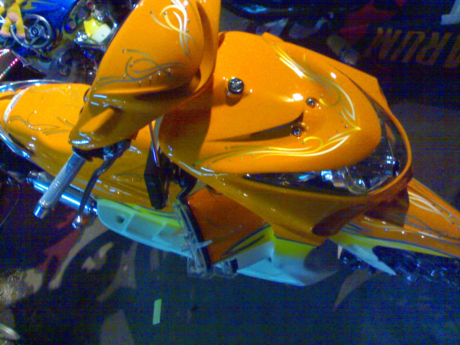 Mio J Modifikasi Airbrush