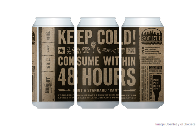 Societe Brewing's 6th Anniversary, New Beer & Crowlers