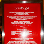 bar rouge rules in Shanghai - Shanghai dress code in Shanghai, Shanghai, China