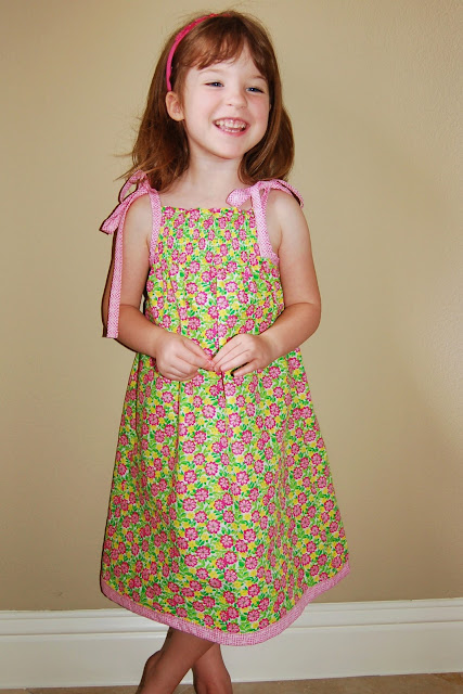 Shirred Sundress
