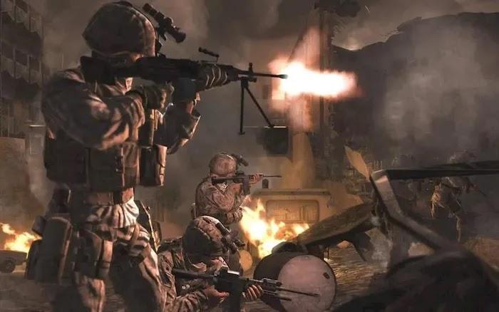 Game Sequence Call of Duty 4 Modern Warfare