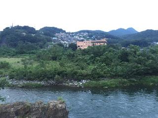 渡良瀬川と赤城山