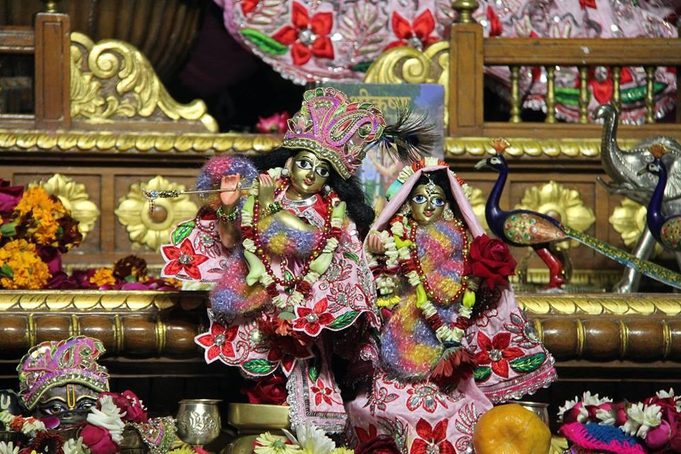 ISKCON Delhi Deity Darshan 06 Jan 2016 (6)