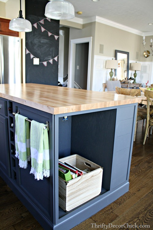 maple butcher block counters
