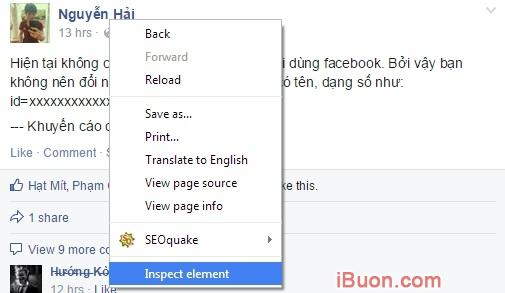 Ảnh mô phỏngXác định Id Facebook, địa chỉ facebook và Fanpage của bạn như thế nào? - xac-dinh-id-facebook-1