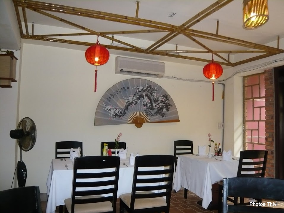 restaurant Le Caramel, rue Pham Ngu Lao