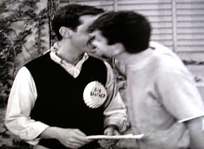 boy kisses boy in 1961 Dobie Gillis TV show