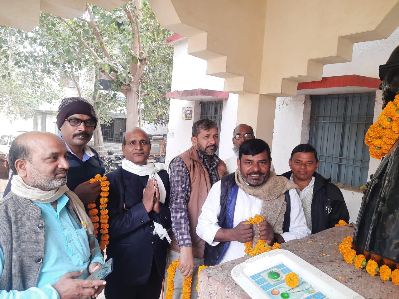 भारतीय संविधान निर्माता एवं समाज सुधारक डॉक्टर भीम राव अम्बेडकर शोषितो ,पीड़ितों ,दलितों ,पिड़ों एवं वंचितों के आवाज थे।
