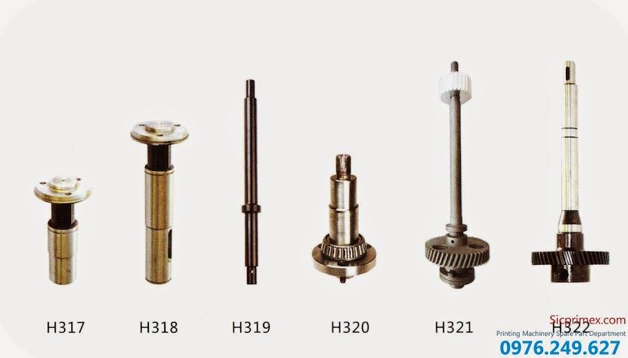 Chuyên cung cấp các loại linh kiện máy ngành in chính hãng H317-322