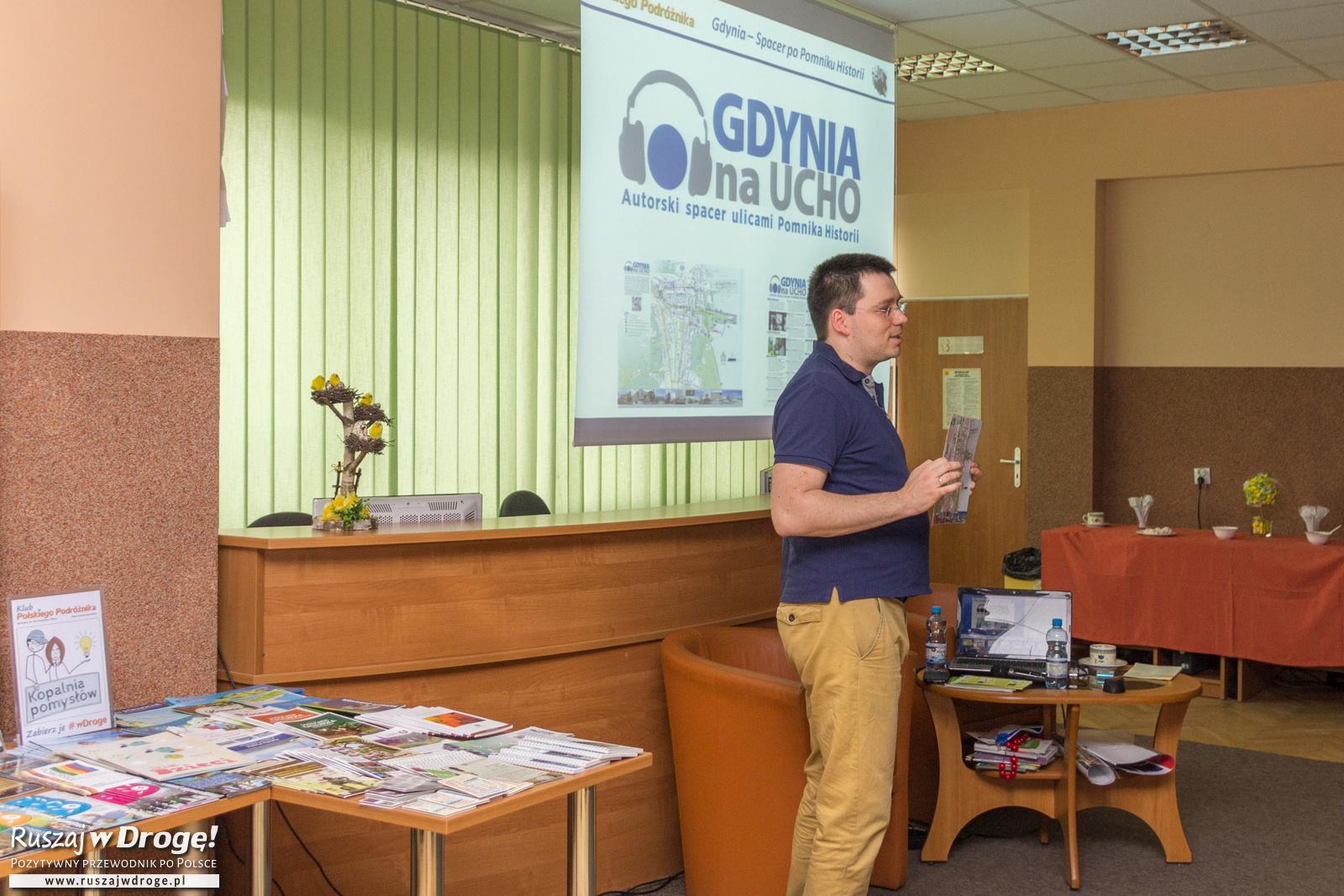 Audioprzewodnik Gdynia na ucho