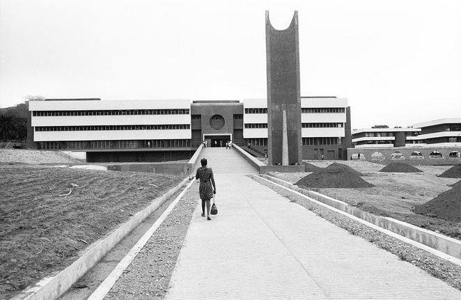 General Library,University of Ile-Ife (now Obafemi Awolowo University) in 1970