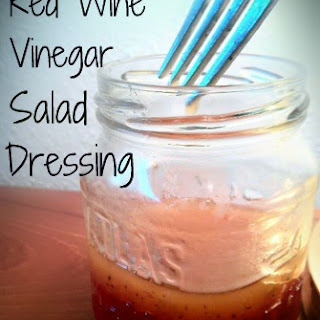 Red Wine Vinegar Salad Dressing Recipe