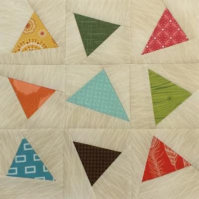 Midcentury Modern Quilt Block