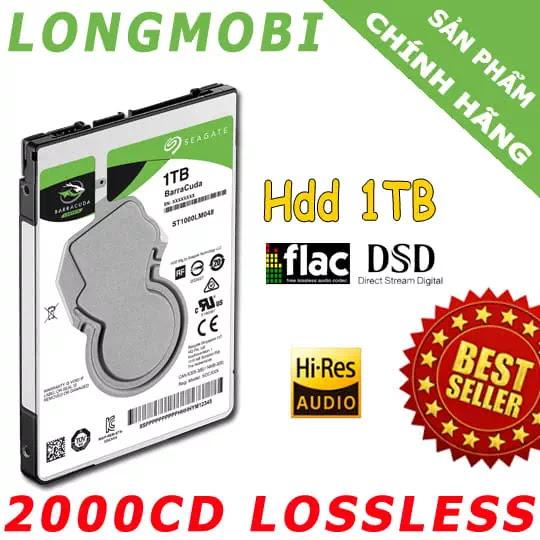 hdd 2000 cd nhac lossless chat luong cao