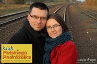 Kasia i Maciej Marczewscy - prowadzący Klub Polskiego Podróżnika