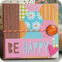 19 - sizzix craft asylum - big shot - scrapbooking mini album - fustelle