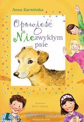 Opowieść o przyjaźni dzieci z psem, który w tajemniczy sposób pojawił się w ich ogrodzie.