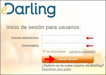 Abrir mi cuenta eDarling - 349