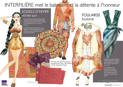 Interfilière Color Trends Autumn/Winter 2012/13