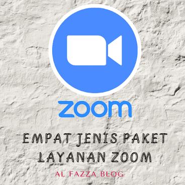 Empat Jenis Paket Layanan Zoom