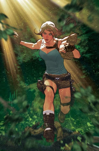 Lara Croft By Adam Hughes - 1