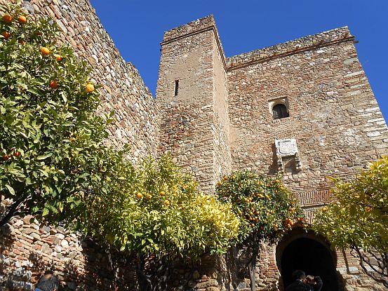 Malagas maurische Festung aus dem elften Jahrhundert: La Alcazaba