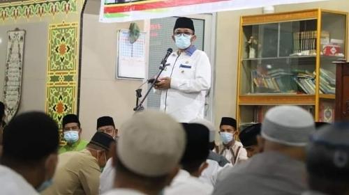 Wako Hendri Septa Ajak Jamaah Masjid Fathahussidiq Bengtekab Sukseskan Pesantren Ramadan