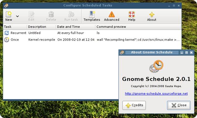 Operazioni pianificate in Ubuntu? Usiamo Gnome-Schedule.