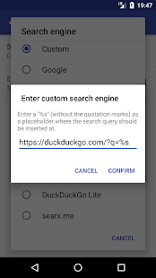 Simple Search Screenshot