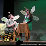 """Paul Dederick and Jennifer Van Iderstyne in """"Time Flies"""" as part of THE IVES HAVE IT - January/February 2012.  Property of The Schenectady Civic Players Theater Archive."""
