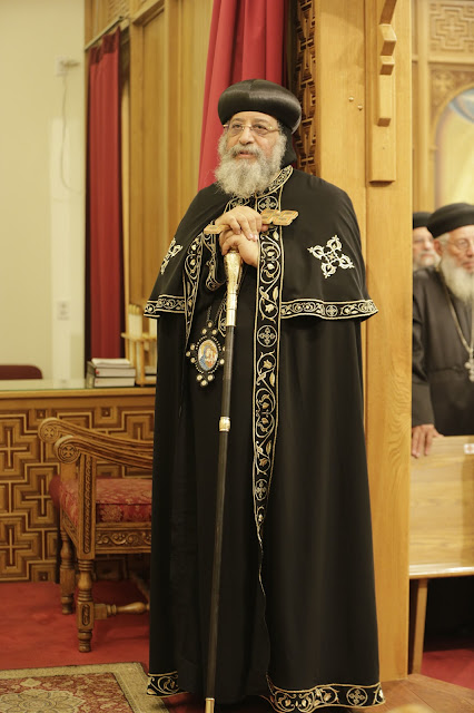 His Holiness Pope Tawadros II visit to St. Mark LA - _09A9163.JPG