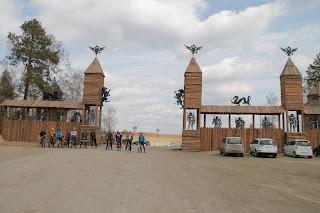 Въезд на Иркутский полигон ТБО