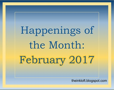 Happenings of the Month Feb 2017