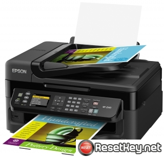 Reset Epson WorkForce WF-2540 printer Waste Ink Pads Counter