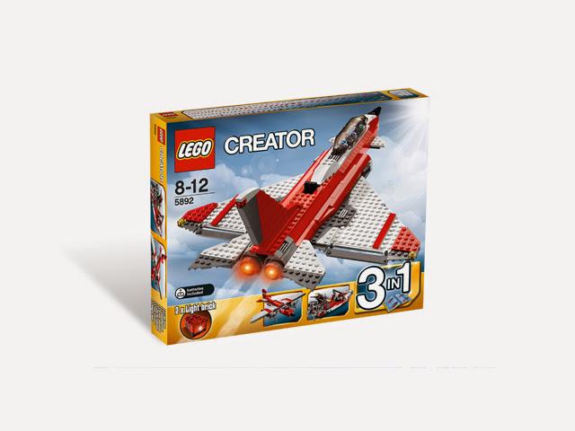 5892 レゴ クリエイター ソニックブーム