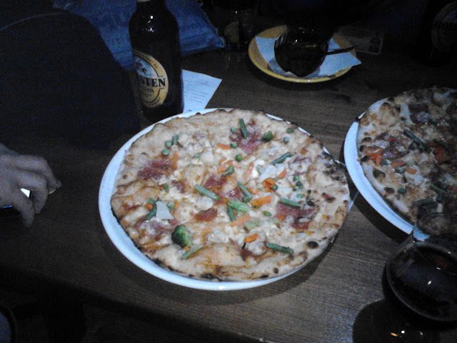 Pizza bloggerilor la The Stage, Oradea #1