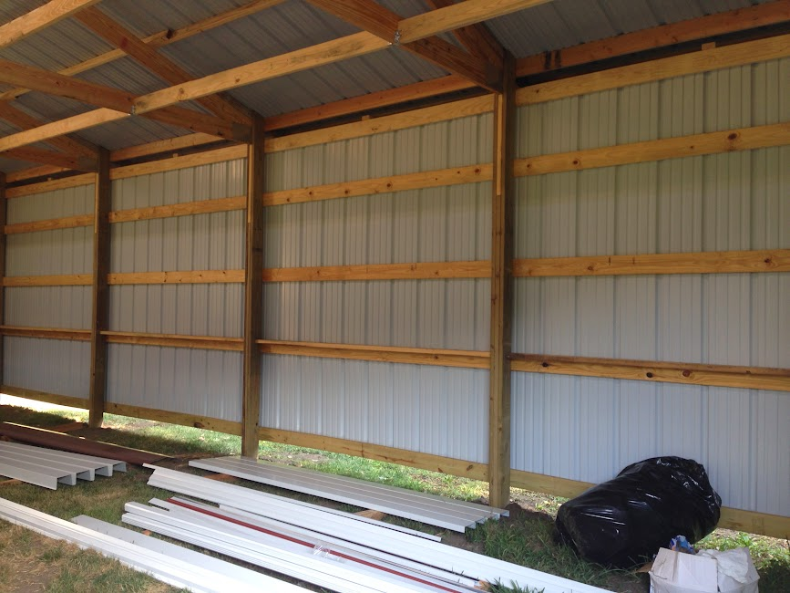 How to insulate and OSB pole barn? - The Garage Journal Board