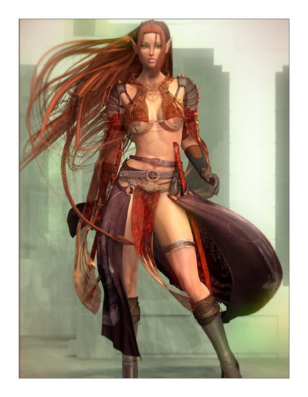 Aerin Elven Fighter, Elven Girls
