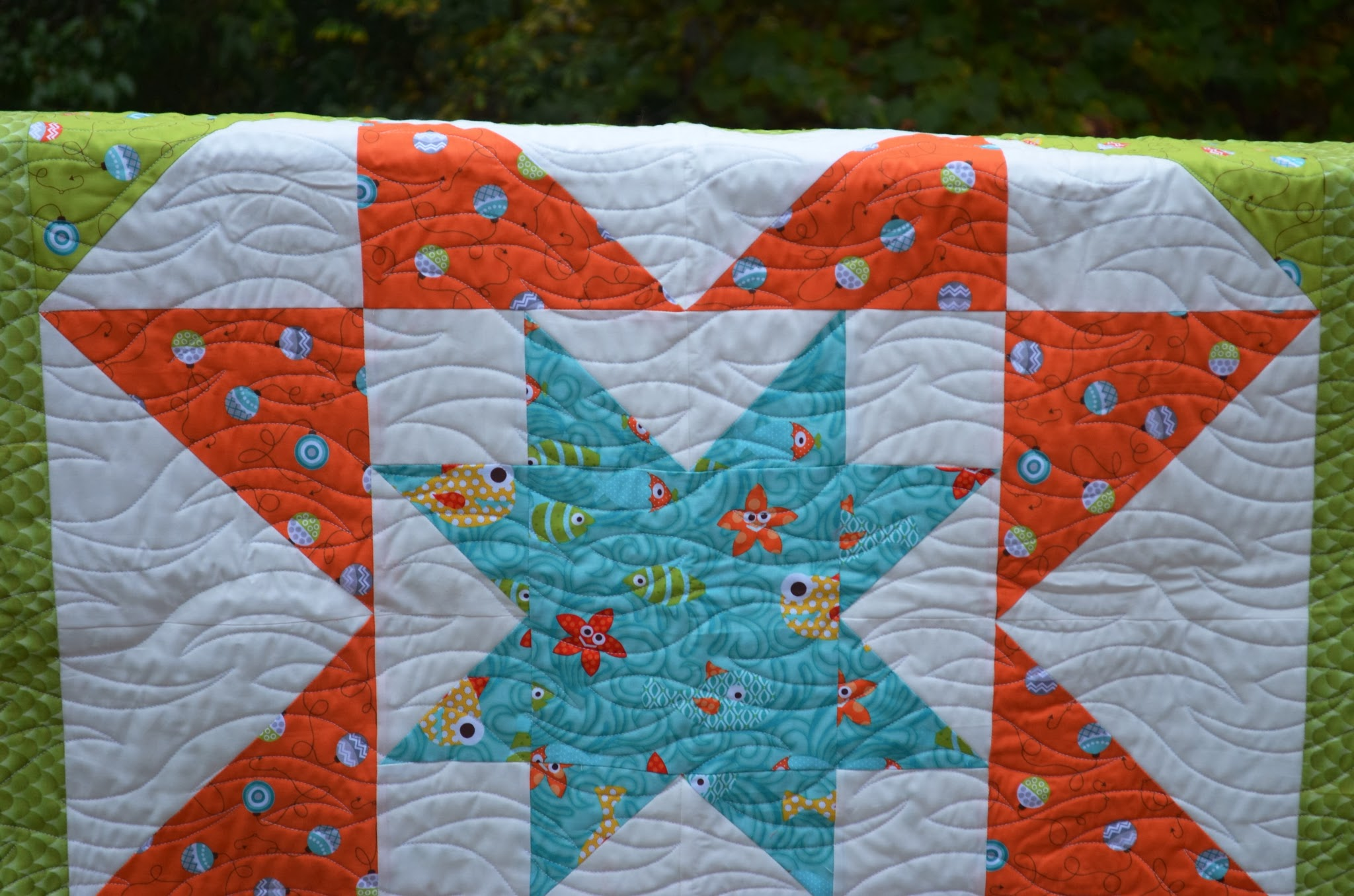 Around the Blocks: Baby Star Quilt