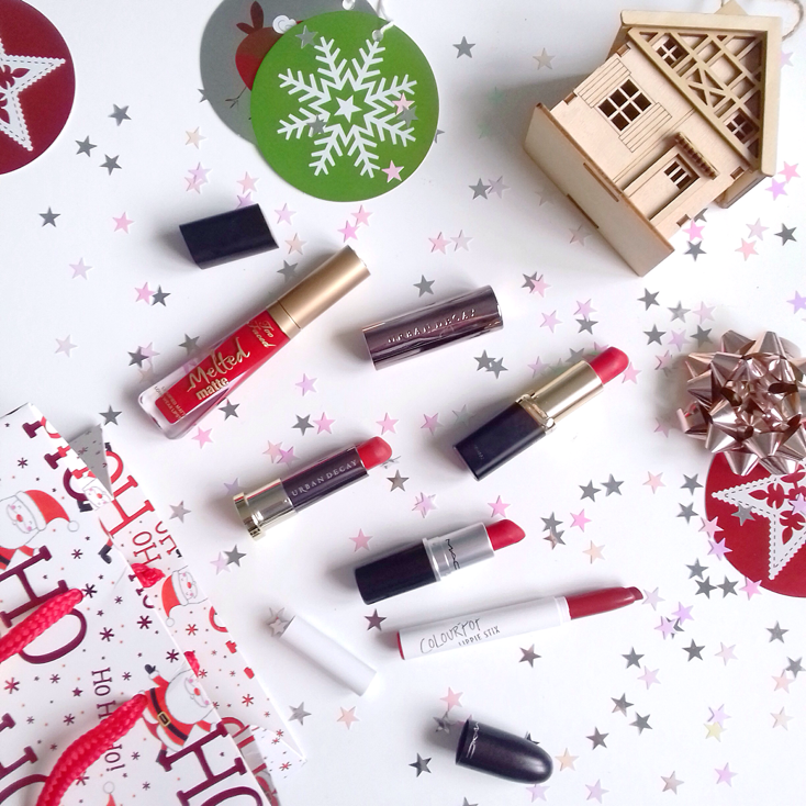 5 Perfect Red lipsticks To Get You In A Festive Mood