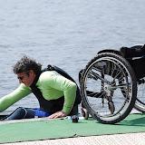 stage national d'entrainement et de perfectionnement handi-kayak à Vichy