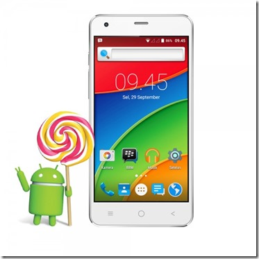 Asiafone AF9908, Android 5.1 Lollipop Murah Meriah